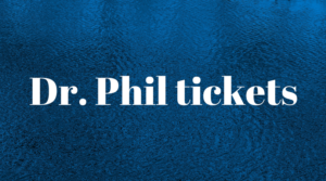 How to get tickets to Dr  Phil and be in the audience  | Studio